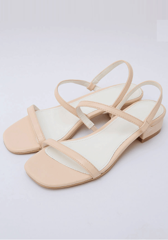 Cross-Roads Flat Sandals 3cm