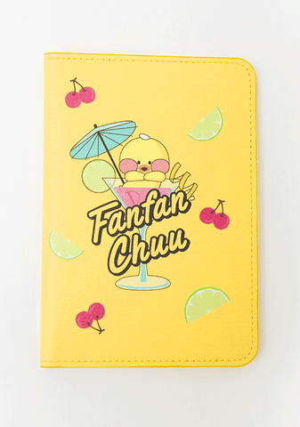 FFC Welcome Home. Cherryade Passport Case