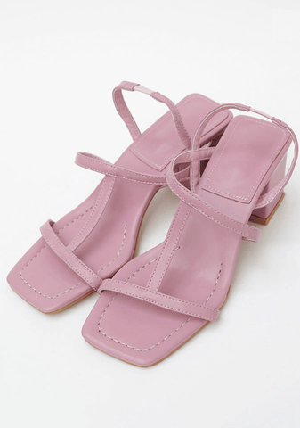 Attractive T-Straps Heel Sandals 7cm