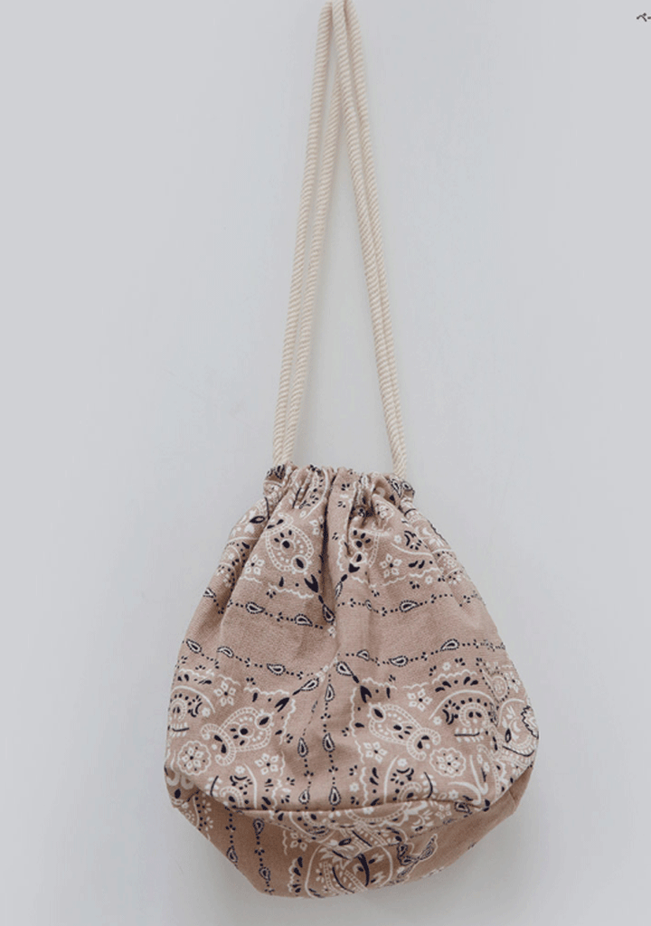 You Always Need Me Paisley Bucket Bag