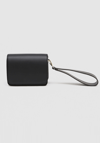 Nana Simple Leather Square Bag
