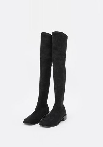 Tied Over The Knee Perfect Photoshop Boots 18FW