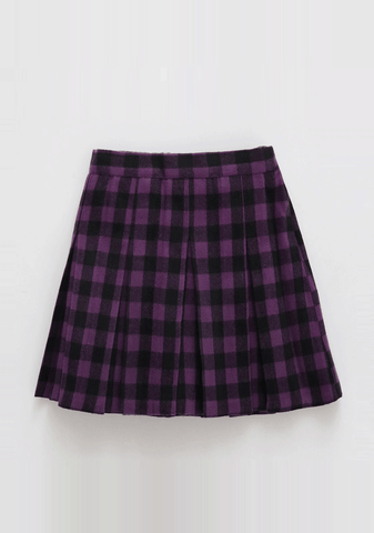 The Truth Behind Check Skirt