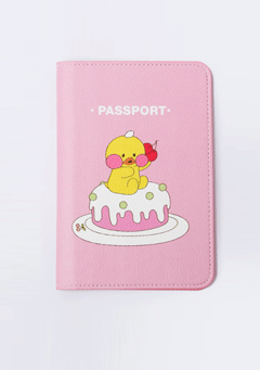 FFC Airport ST1. Pink Check In Passport Case
