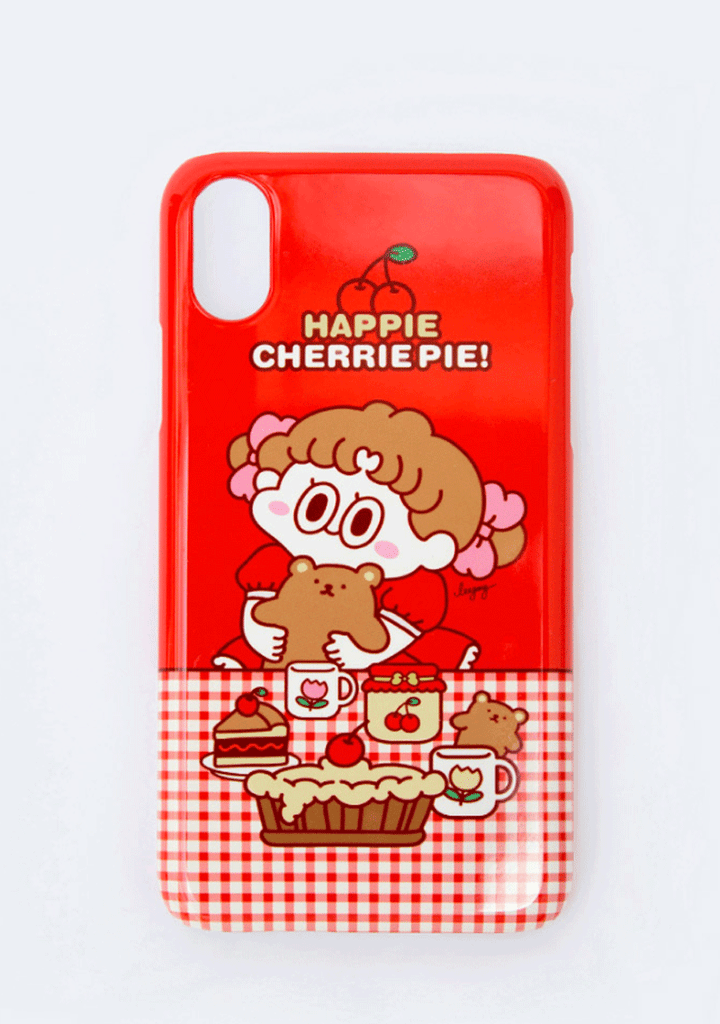 Cherry Pie. Leegong Sweet Dessert Phone Case