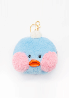 FANFANCHUU Baby Bird Key Ring -blue
