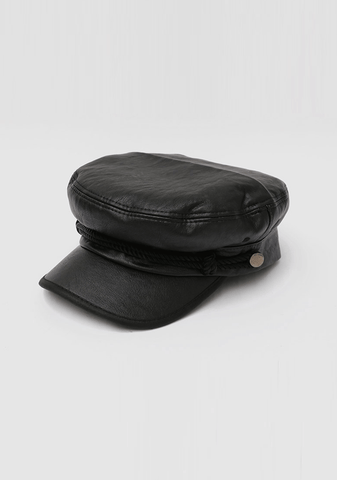 We Wish Leather Beret