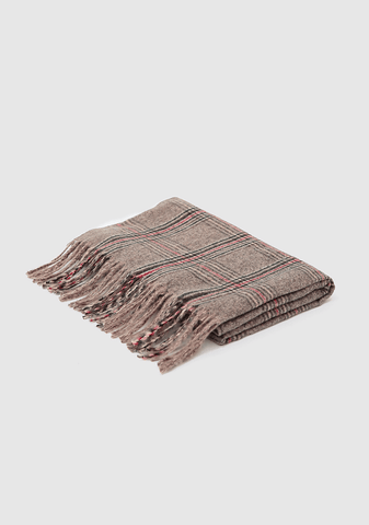 Sweet Check Winter Scarf