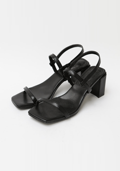 Night And Darkness Heeled Sandal