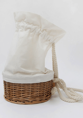 Sailor Rope Basket Bag