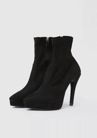 Unique Platform Ankle Boot