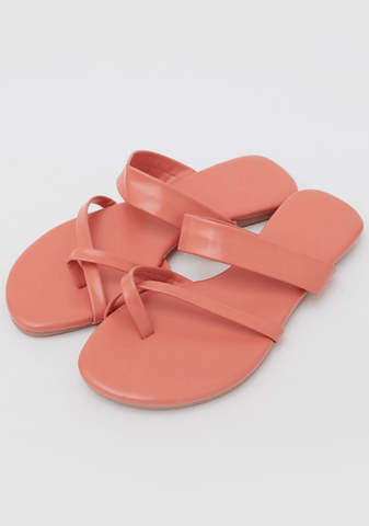 Toe Crossed Strap Sandals
