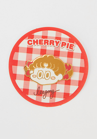 Cherry Pie. Leegong Shy Girl Broach