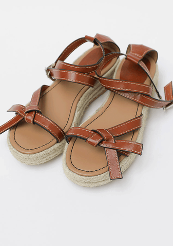 Tie Me To The Stars Straps Sandals