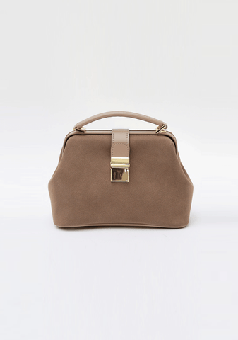 Daily Flap Suede Bag