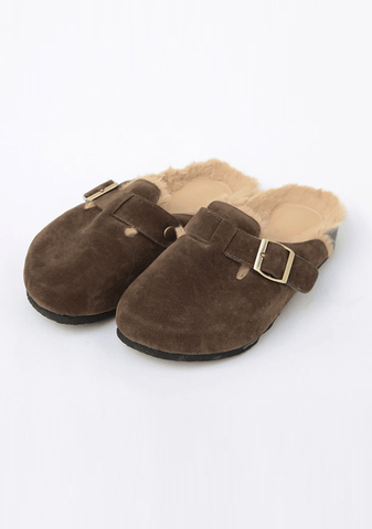 Winter Comes Fur Slippers