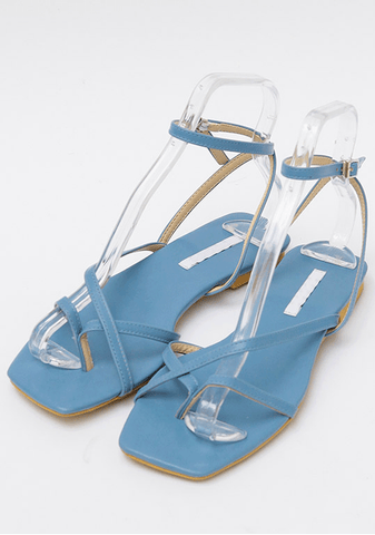 Light Strap Sandals 2Cm