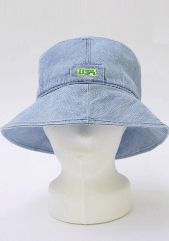 USA Denim Bucket Hat