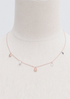 Rose Kiss Necklace
