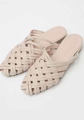Waves Of Weaves Slip-On Shoes 3cm