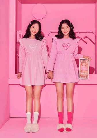 Barbie Room. Heart Logo Pajama