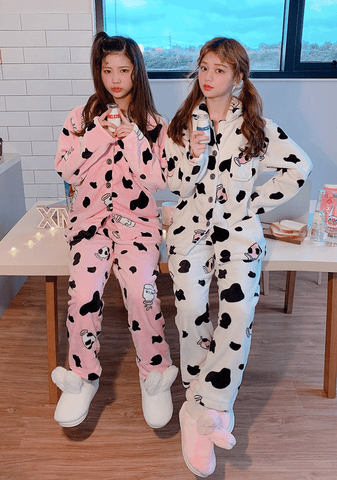 Milk Cow Soft Pajama Set
