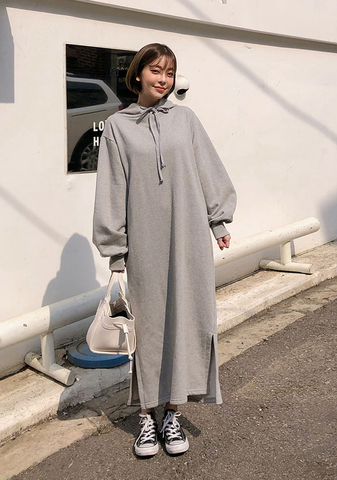 Homy Long Sweater Dress