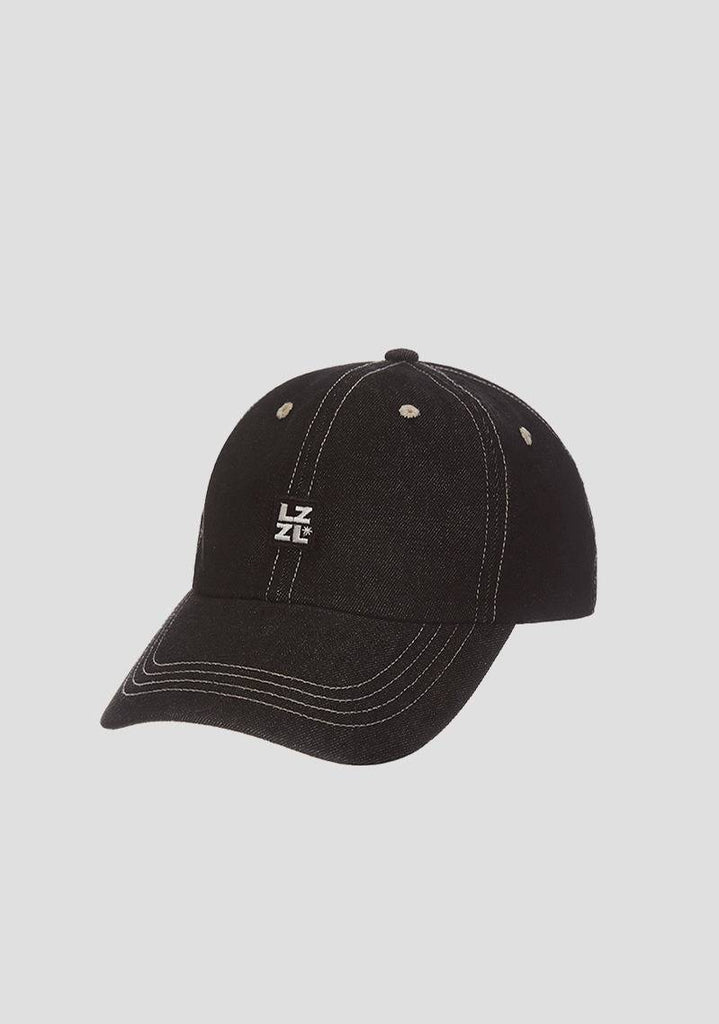 Denim Wappen Ball Cap (Black)