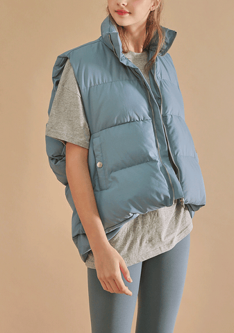 Pleasant Winter Padded Sleeveless Vest