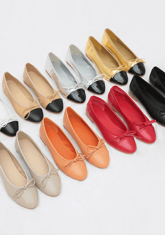 Ribbon Flat Shoes In 8Colors