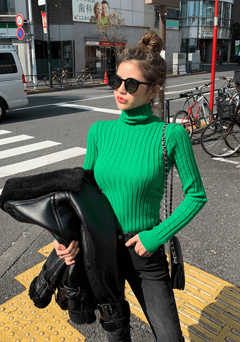 True Colors Turtleneck Knit