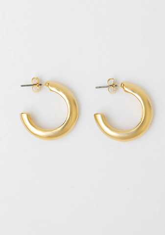 Bold Gold Earring