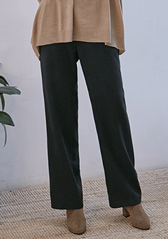 Chic Wide Fit French Pants