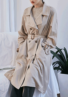 Celebrate Belted Trench Coat