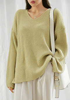 Need You V-Neck Knit Top