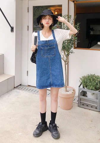 Worldwide Cutie Denim Dress