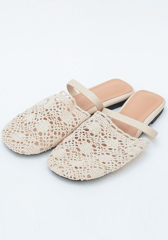 Summery Knit Slippers