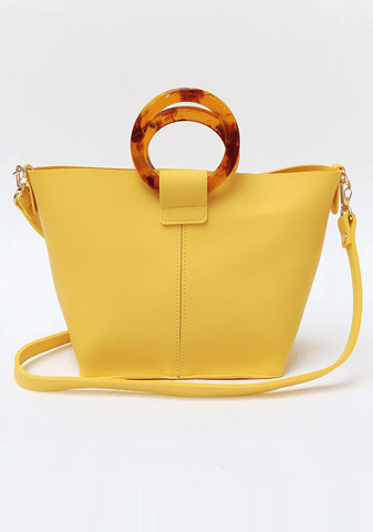 Sophisticated O-Handle Bag