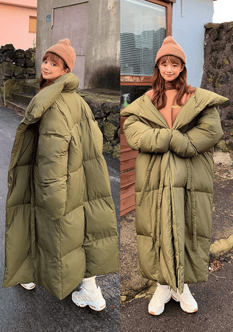 Winter Blanket Padded Coat