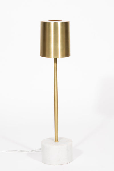 Desk Lamp Marble/Brass