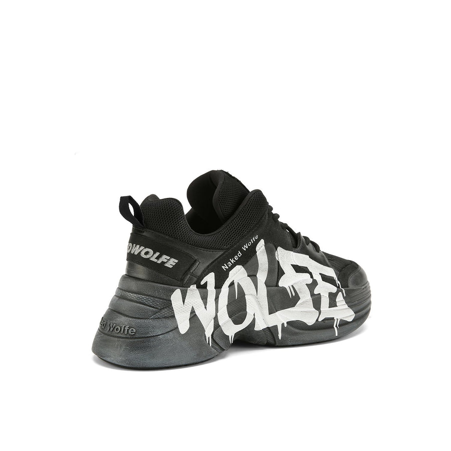 Titan Logo Dirty Black - Naked Wolfe