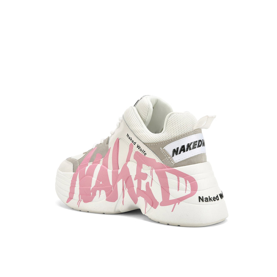 Track Logo Pink - Naked Wolfe