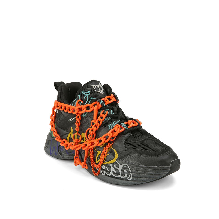 Titan Black Neon Chain - Naked Wolfe