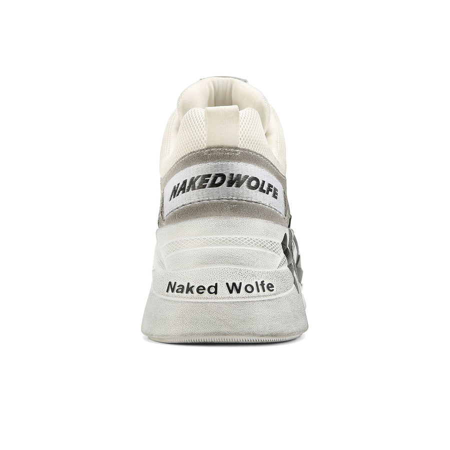 Titan Logo Dirty White - Naked Wolfe