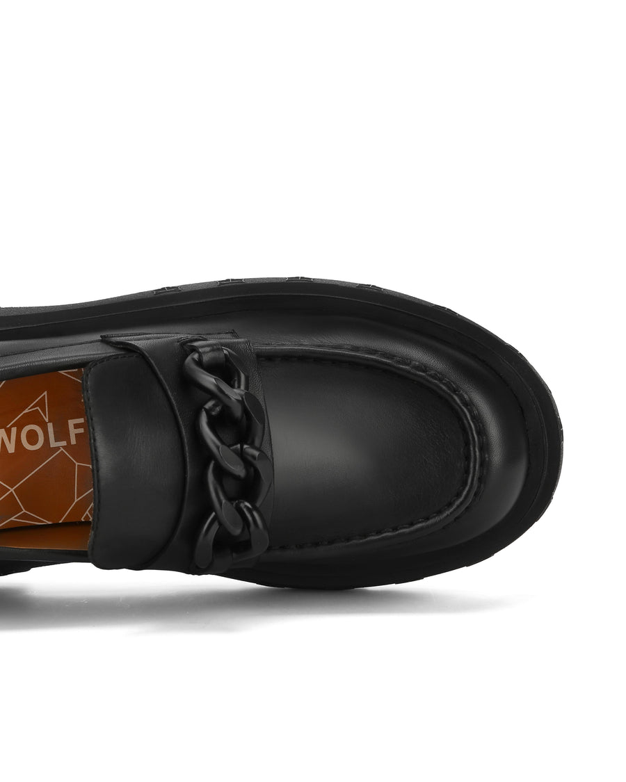 Amalfi Black Leather - Naked Wolfe
