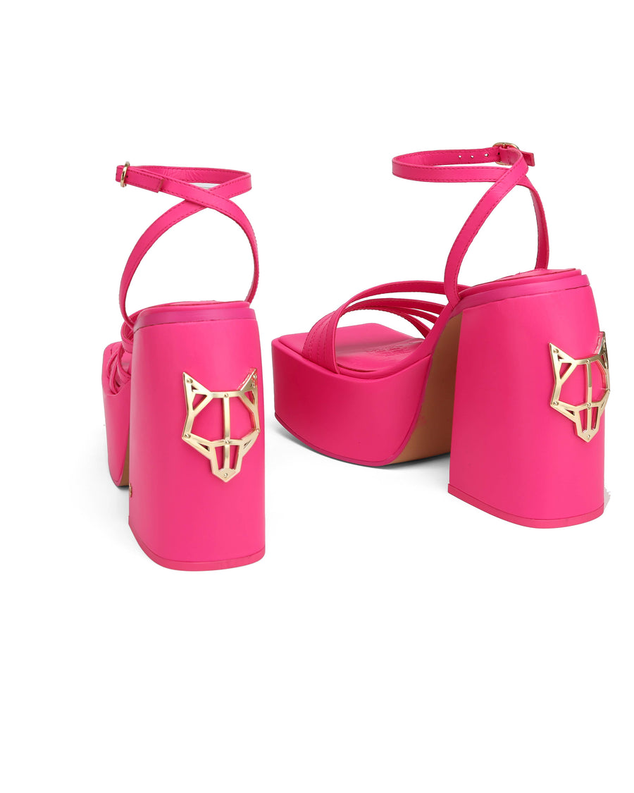 Jada Knockout Pink Leather