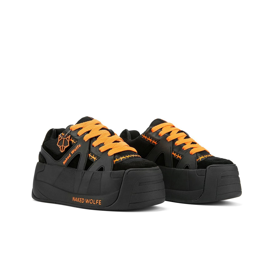 Skater Neon Orange - Naked Wolfe