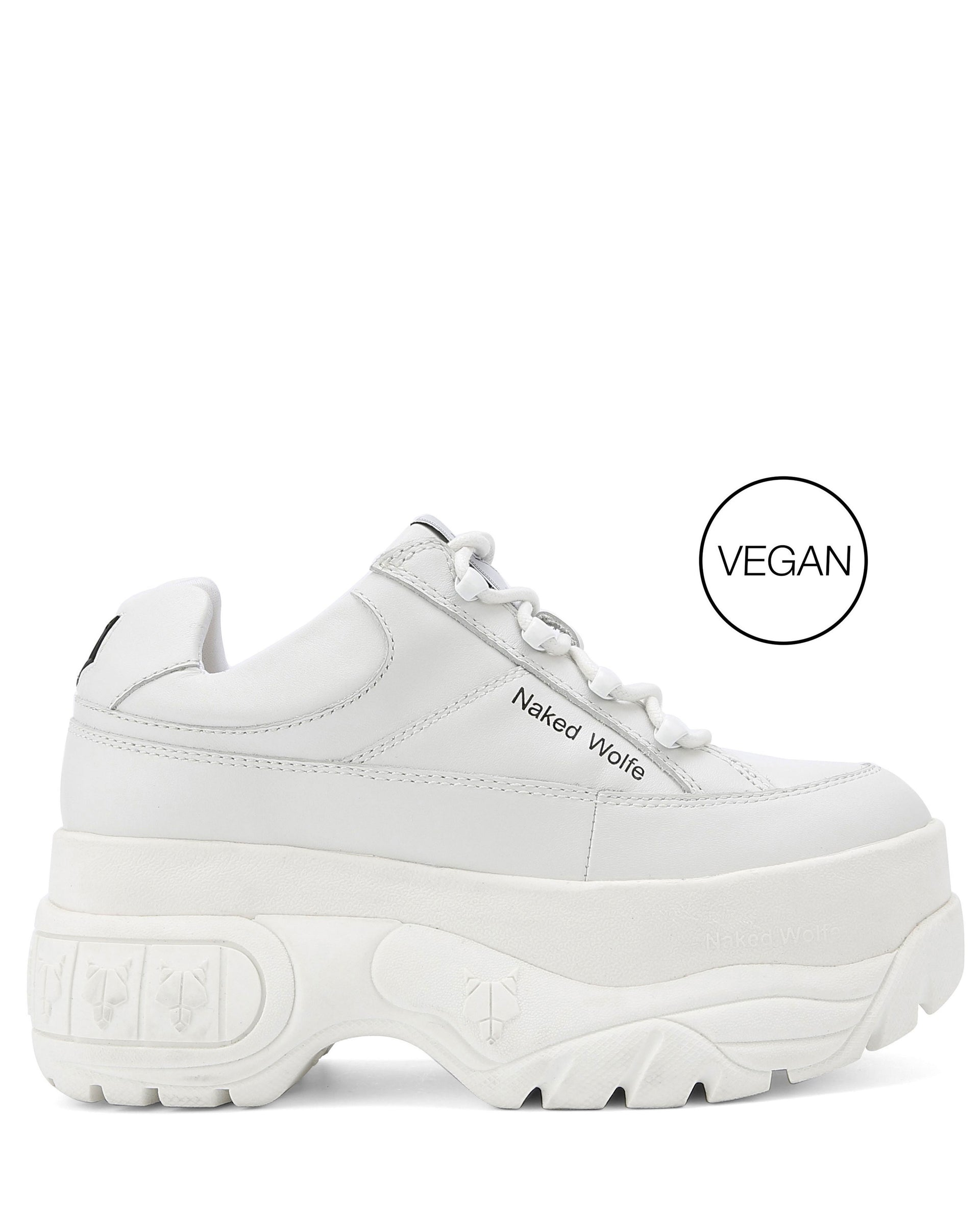 Sporty White VEGAN