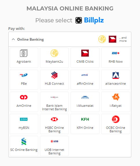 Online Banking Payment Method