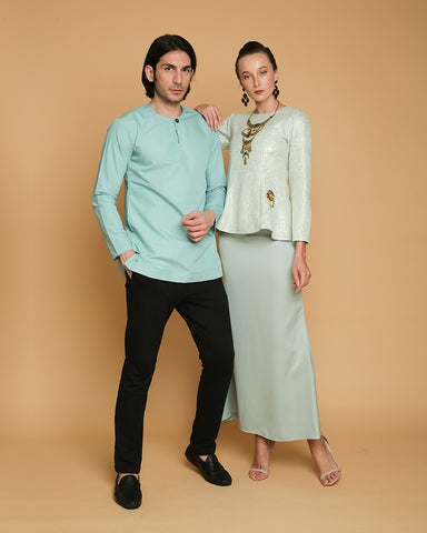 baju raya couple set sedondon
